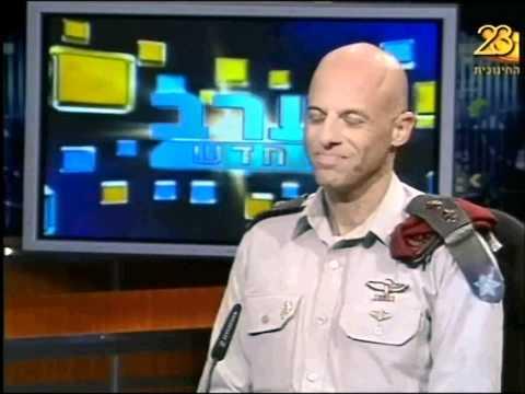 """ראיון בערוץ הראשון עם סא""""ל ליאור גרוס, מפקד הפנימייה הצבאית לפיקוד בחיפה"""