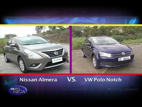 nissan almera vs volkswagen polo sedan