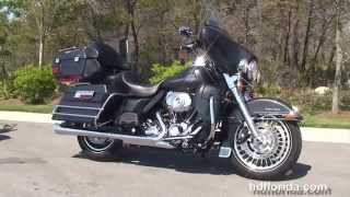 10. Used 2009 Harley Davidson Ultra Classic Electra Glide Motorcycles for sale - Leesburg, FL