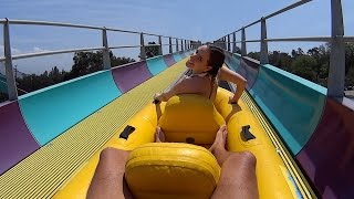 San Dimas (CA) United States  city photos : Aqua Rocket Water Slide with Lihot at Raging Waters LA