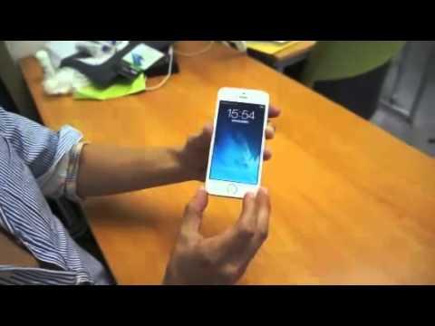 Mở khóa iPhone 5S bằng đầu ti
