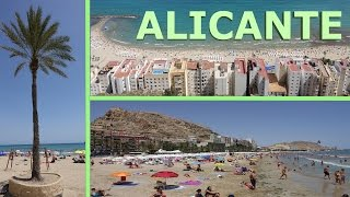Alicante Spain  city images : Alicante, Spain - 2016 4K