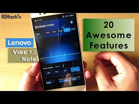 , title : '20 Awesome Features of Lenovo Vibe K5 Note'