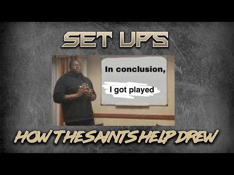 Set Ups! | How Sean Payton, Drew Brees & the Saints play chess, no checkers, with defenses