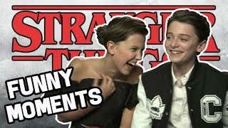 Millie Bobby Brown & Noah Schnapp: Best Friends FUNNY MOMENTS