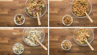 Pasta Salad 4 Ways by Tasty