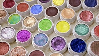 Hey Sugarbritches! Today I'll be showing you my entire Colourpop Eyeshadow Collection as well as swatches of every single one...