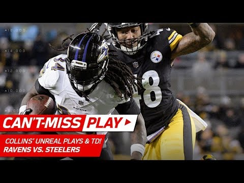 Video: Two Unbelievable Plays by Alex Collins on this TD Drive! | Can't-Miss Play | NFL Wk 14