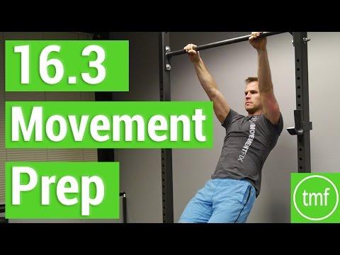 16.3 CrossFit Open Movement Prep & Warm Up