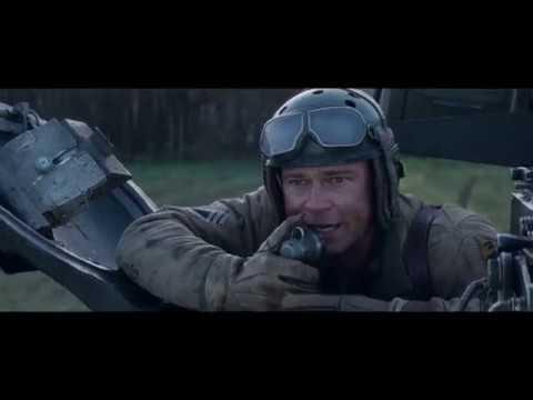Fury Scene: Sherman Tank vs Tiger