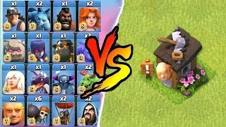 Video ALL TROOPS vs GIANT BUILDER HUT - CLASH OF CLANS | ALL UNITS vs BUILDER HUT ! | COC MP3, 3GP, MP4, WEBM, AVI, FLV Agustus 2017