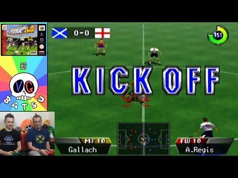 ISS64 (N64) Euro 2016 Special - Punishment Game - VG Batsu (видео)
