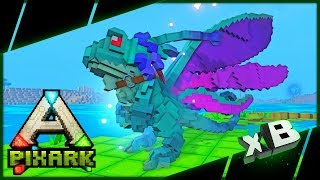 Easy Solo Fairy Dragon Tame! :: PixARK Multiplayer :: E07