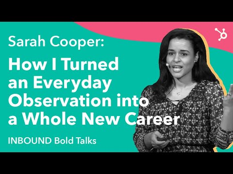 How I Turned an Everyday Observation into Whole New Career