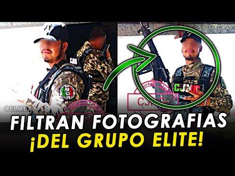 """Filtran fotografías de """"El Delta"""" y otros integrantes del Grupo Elite de Jalisco."""