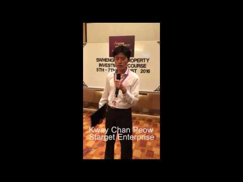 2016 3D2N Swhengtee Property Investment Course  Testimonial