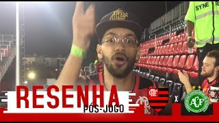Ruan comenta a goleada do Flamengo sobre a Chapecoense na Ilha do Urubu. SEGUE LÁ PADRINHO:...