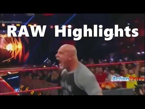 WWE Raw 14 November 2016 Full Show HD - WWE Monday Night Raw Highlights