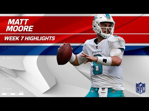 Video: Matt Moore Puts Together Amazing Comeback in 4th Quarter!   Jets vs. Dolphins   Wk 7 Player HLs