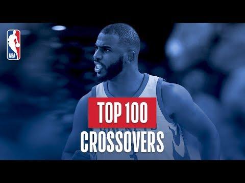 Top 100 Crossovers: 2017-2018 NBA Season (видео)