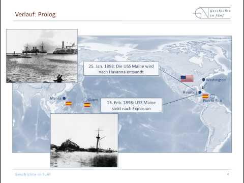 Spanisch-Amerikanischer Krieg (1898) - die USA werden ...