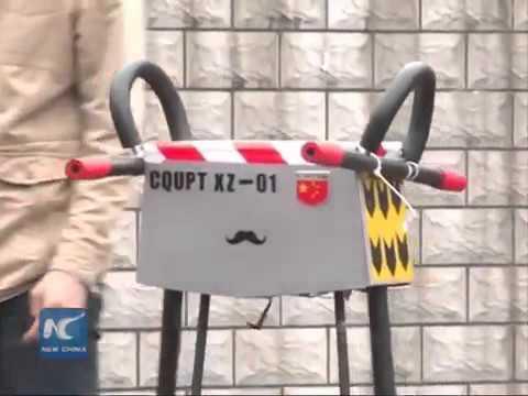 Китайский шагающий робот установил рекорд пройденной дистанции