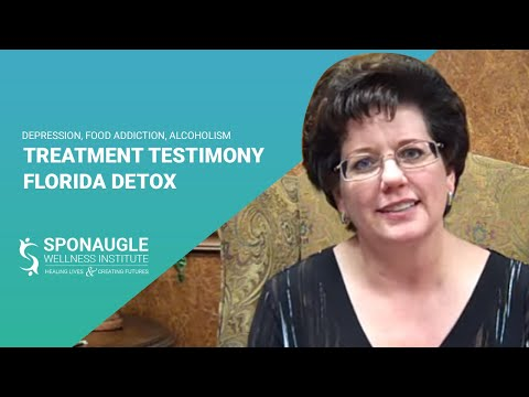 Depression, Food Addiction, Alcoholism – TREATMENT TESTIMONY – FLORIDA DETOX