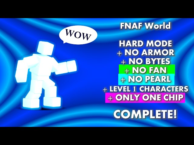 Scott Cawthon Boss All Level 1s No Bytes Armor Fan Pearl ...