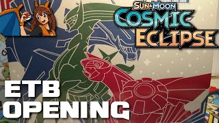 WE STRUCK GOLD! Opening a Cosmic Eclipse Elite Trainer Box of Pokemon Cards! by Flammable Lizard