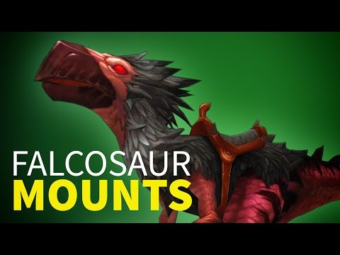How to get your Falcosaur Mount in Patch 7.1 World of Warcraft (видео)