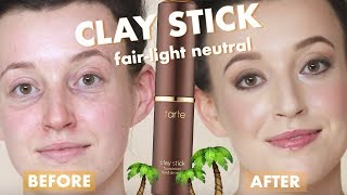 tarte clay stick foundation | fair-light neutral