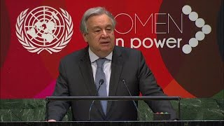 #WomenInPower High-Level Event - UN Chief