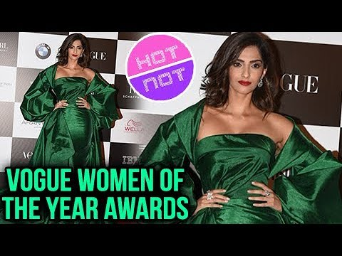 Sonam Kapoor At Vogue Women Of The Year Awards In