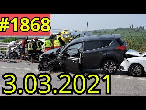 Новая подборка ДТП и аварий от канала Дорожные войны за 03.03.2021