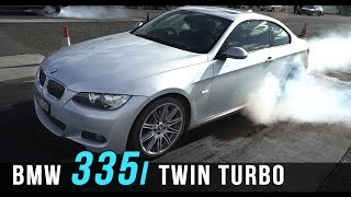 BMW 335i Twin Turbo Video and Review