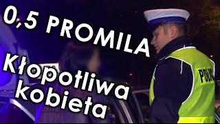 Pijana kontra polska policja