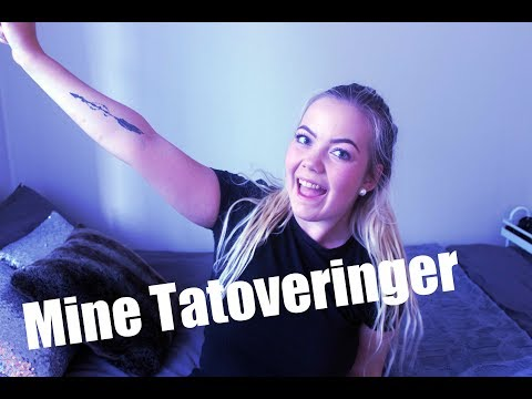 Mine tatoveringer/tattoo TAG (video)