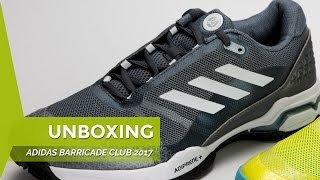 video Unboxing Zapatillas Adidas Barricade Club grises 17