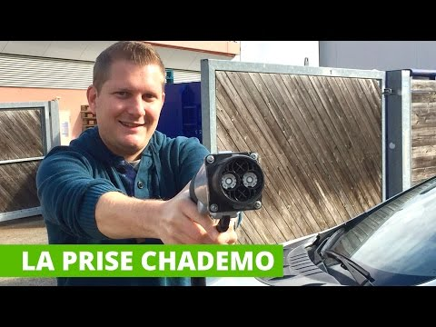 La prise de recharge rapide CHADEMO