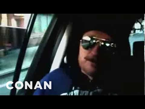 Conan Crashes The Today Show