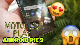 Tudocelular - Android PIE 9 No Moto Z3 Play BETA Na CHINA CONFIRA!