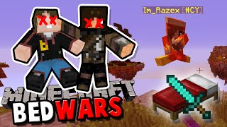 Team #NOSKILL am Start   Minecraft BEDWARS   baastiZockt
