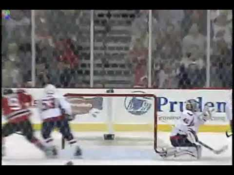 Niclas Bergfors Goal & Slapshot Over the Shoulder vs Capitals 11/4/2009