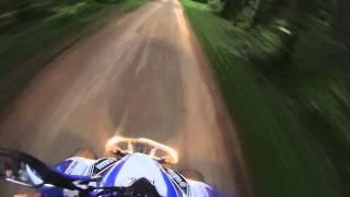 9. Quad Yamaha Raptor 350 accélération 0-100 [HD]