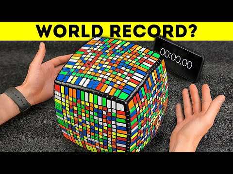 Solving the huge Rubik's Cube 15X15 in record time