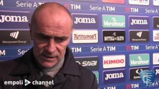 Preview video Le parole di mister Martusciello al termine di Sampdoria-Empoli