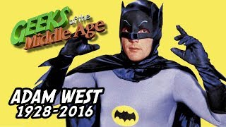 We fondly remember the Batman from our youth, the late great Adam West, star of the 1966 hit television show, voice actor on Family Guy, and comic book convention stalwart.