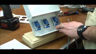 HOW TO: DIY 120 VAC Power Switch Center / Arduino Controlled Relays -