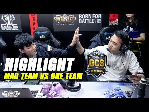 Highlight GCS Spring 2019 | ONE TEAM vs MAD TEAM | RƯỢT ĐUỔI TỈ SỐ - Thời lượng: 12 phút.