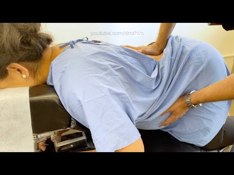 *Pregnancy Crack* My 9 month pregnant wife gets RELIEF from an adjustment - Dr. Rahim Chiropractic